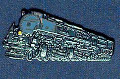 UP 39 Engine Railroad Pin