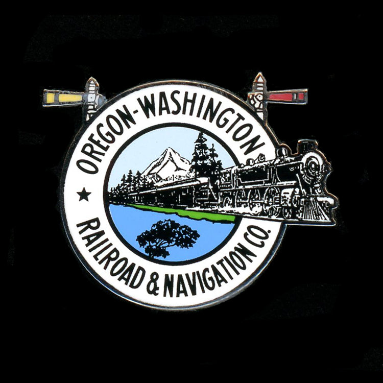 Oregon-Washington RR & Navigation Railroad Pin