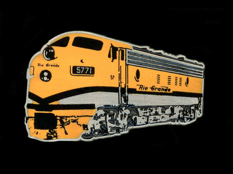 Rio Grande F7 Locomotive Pin