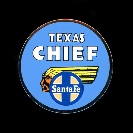 SF Texas Chief Railroad Pin