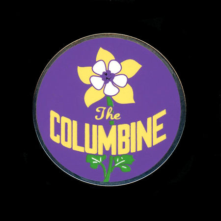The Columbine Railroad Pin