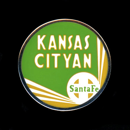 Kansas Cityan Railroad Pin