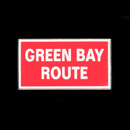 Green Bay Route Pin