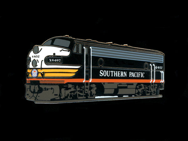 Southern Pacific F7 Locomotive Pin