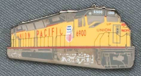 Union Pacific 6900 Locomotive Pin