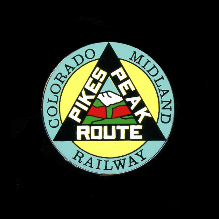 Colorado Midland Railroad Pin