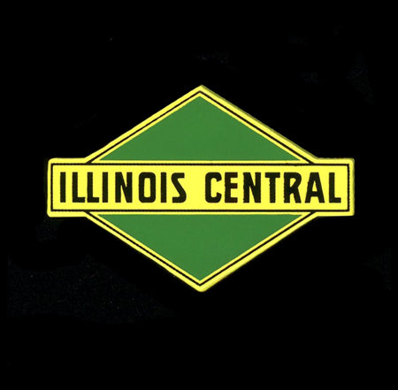 Illinois Central (Buff/Green) Pin