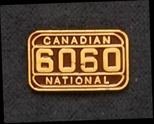 Canadian National #6060 Pin