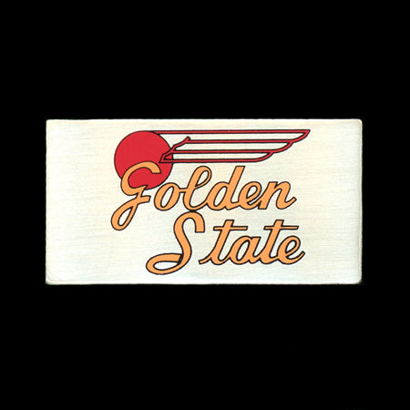 Golden State Railroad Pin