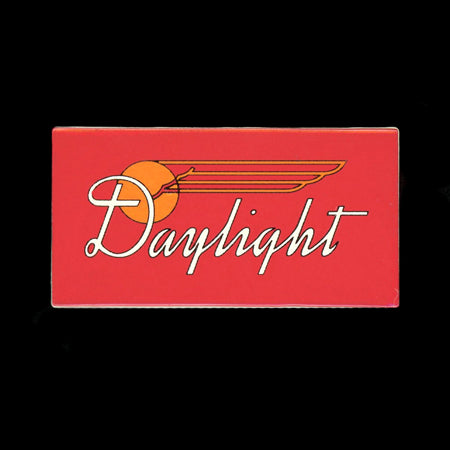 Daylight Car Plate Railroad Pin