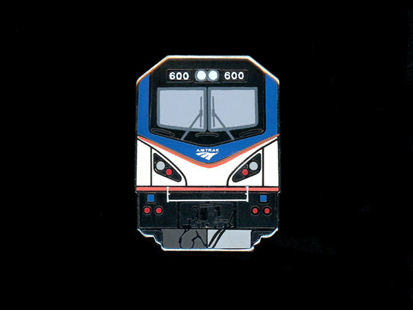 Acela Locomotive Pin