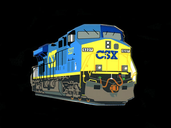 CSX Locomotive Pin