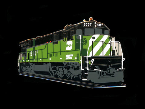 Burlington Northern C30-7 Locomotive Pin
