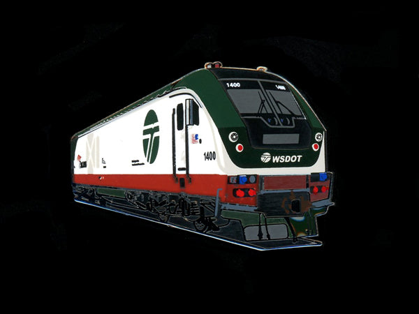 Amtrak Cascades Charger Locomotive Pin