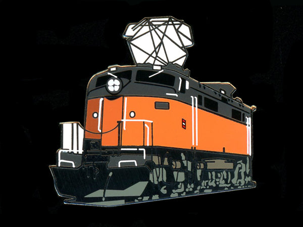 Milwaukee Road Locomotive Pin
