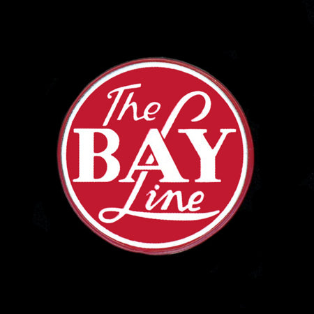 The Bay Line Pin