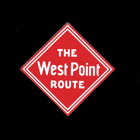 The West Point Route Pin