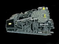 Nickel Plate #765 Pin