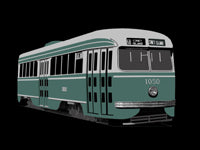 Brooklyn PCC Car #1050 Pin