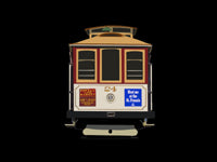 Powell-Mason & Hyde Cable Car #24 Pin