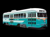 Washington DC PCC Car #1108 Pin