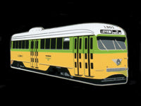 NCL Los Angeles & El Paso PCC Car #1301 Pin