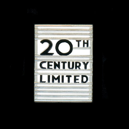 20th Century Limited Railroad Pin