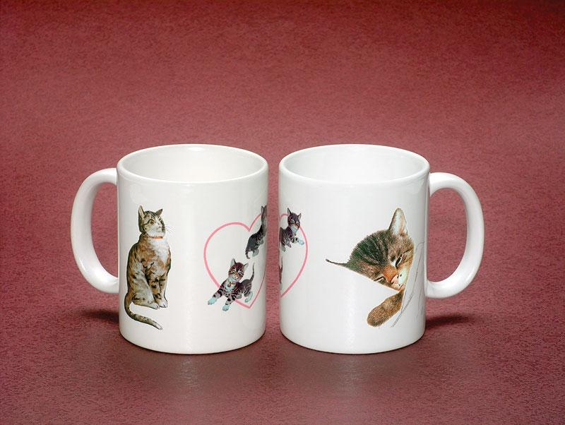Chessie Kitten and Family Mug