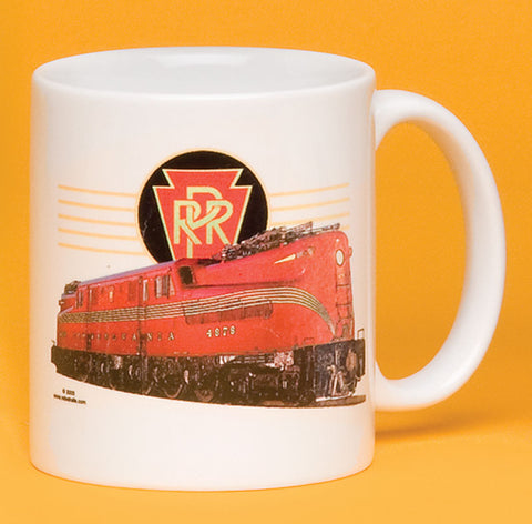 PRR GG1 Engine with Logo Mug