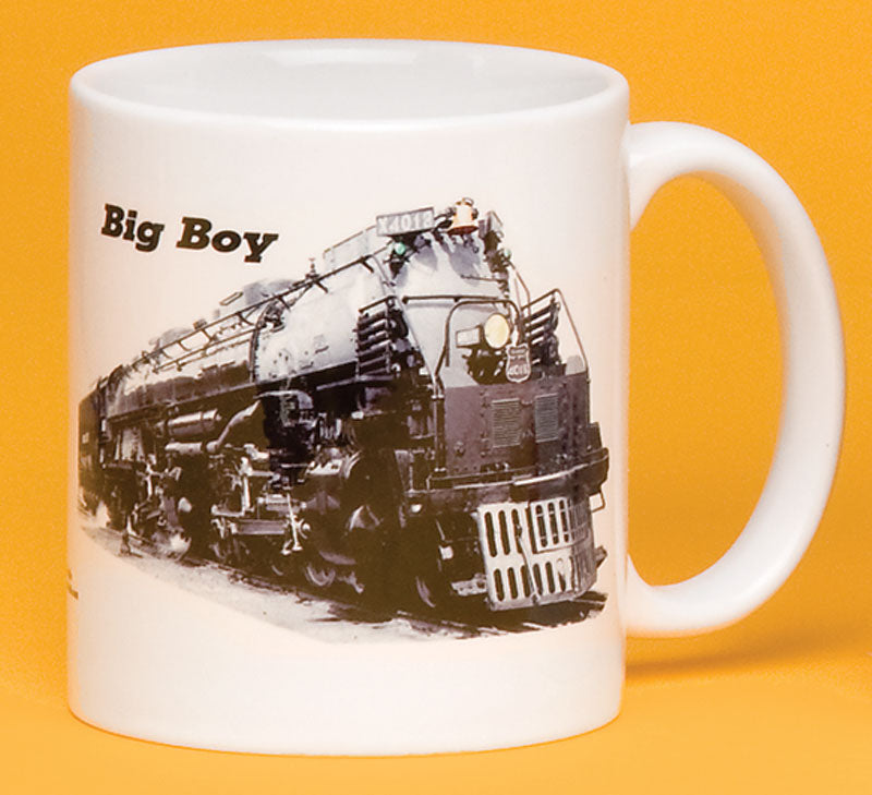 Union Pacific Big Boy Engine with Logo Mug