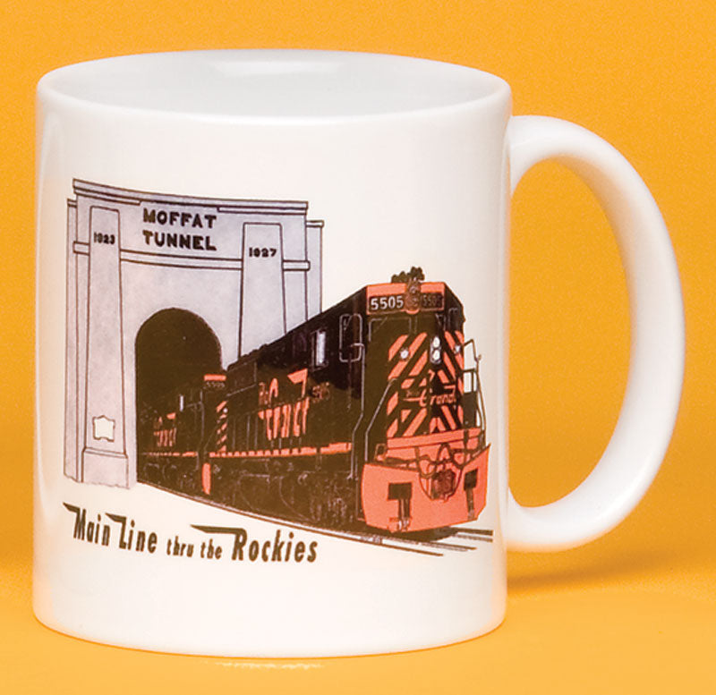 "Rio Grande Engine ""Moffat Tunnel"" Mug"