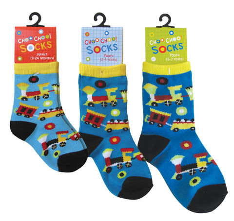 Choo Choo Children's Train Socks