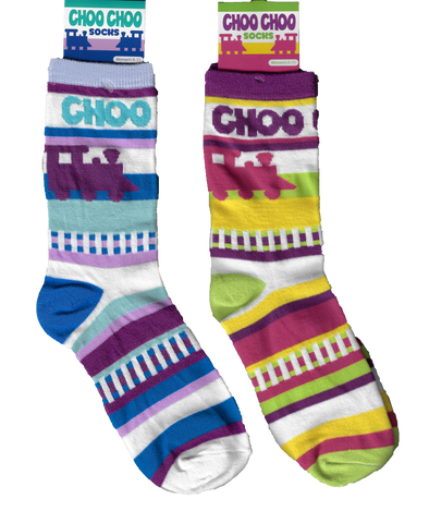 Adult Choo-Choo Socks