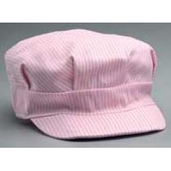 Pink Wide Stripe Child's Engineer Cap