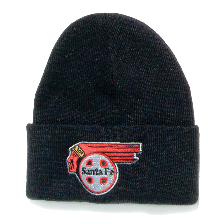 Santa Fe Chief Logo Stocking Cap
