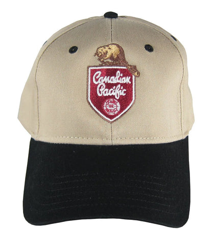Canadian Pacific Beaver Logo Hat