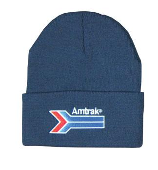 Amtrak Arrow Stocking Hat