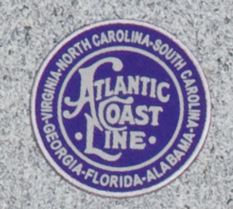 Atlantic Coast Line Railroad Logo Patch