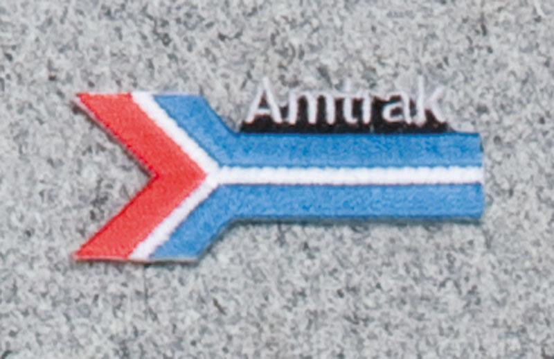 Amtrak Arrow Railroad Logo Patch