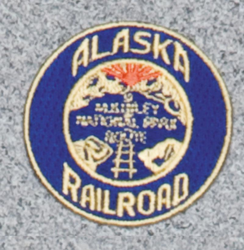 Alaska Railroad Logo Patch