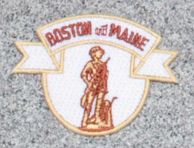 Boston & Maine Railroad Logo Patch