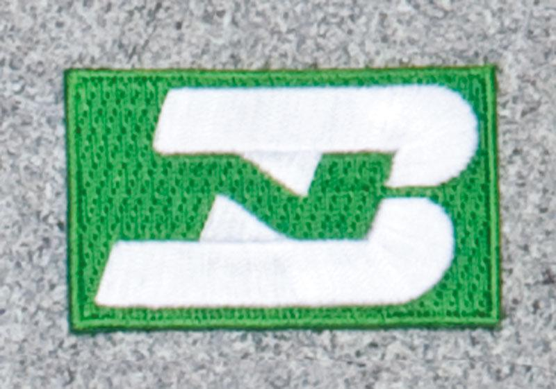 Burlington Northern Railroad Logo Patch