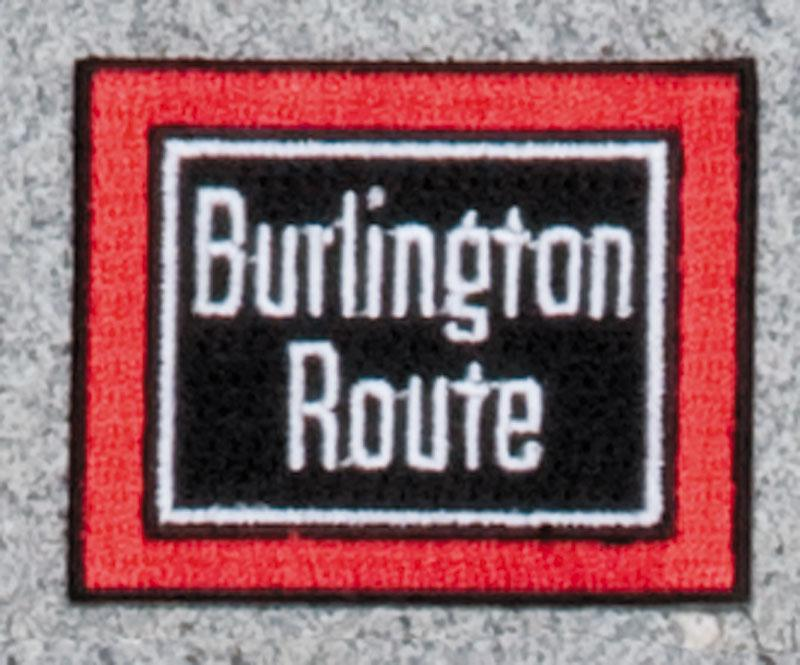 Burlington Route Railroad Logo Patch