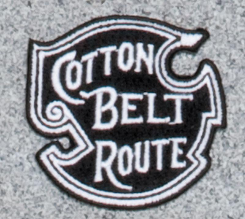 Cotton Belt Railroad Logo Patch