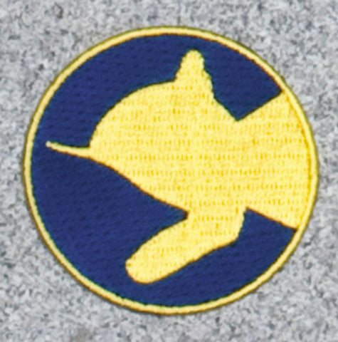 Chessie Kitten in Circle Railroad Logo Patch