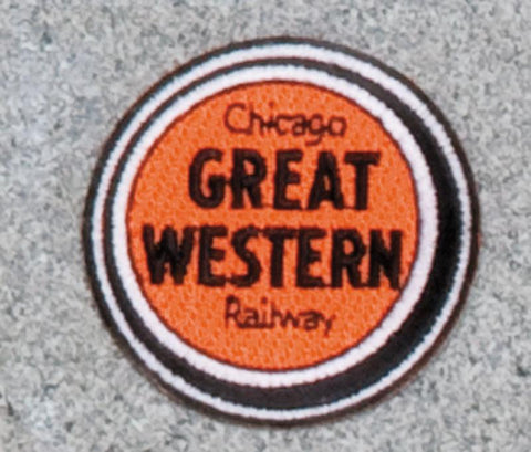 Chicago Great Western Railroad Logo Patch