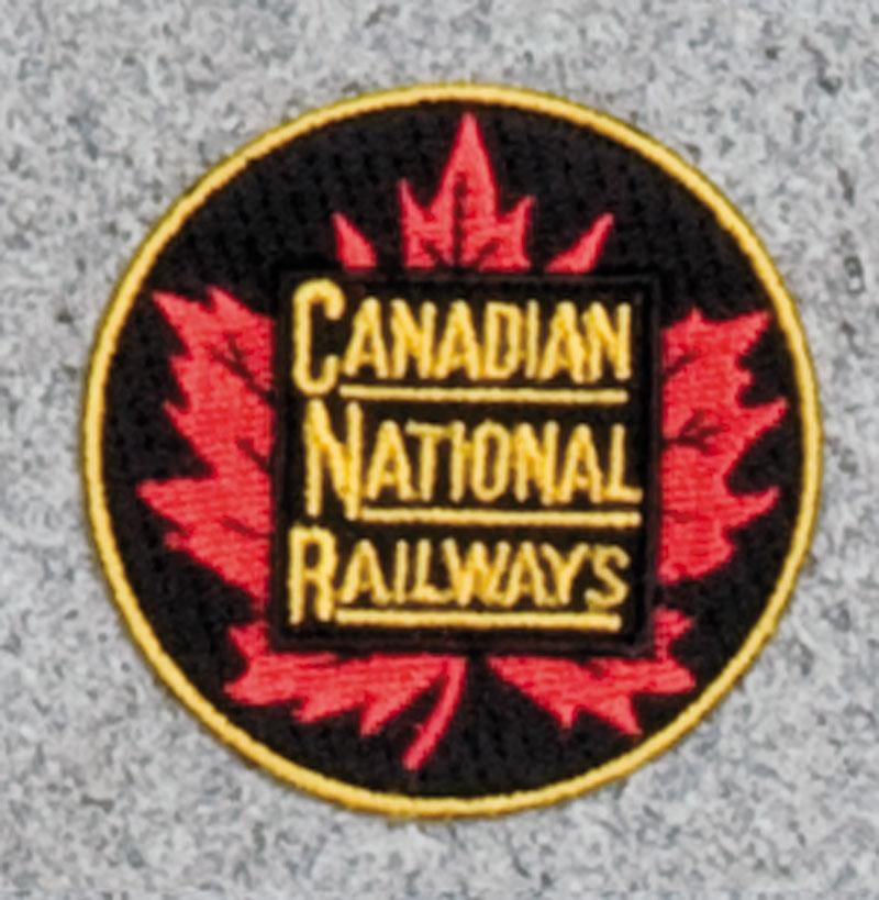 Canadian National-Leaf Railroad Logo Patch