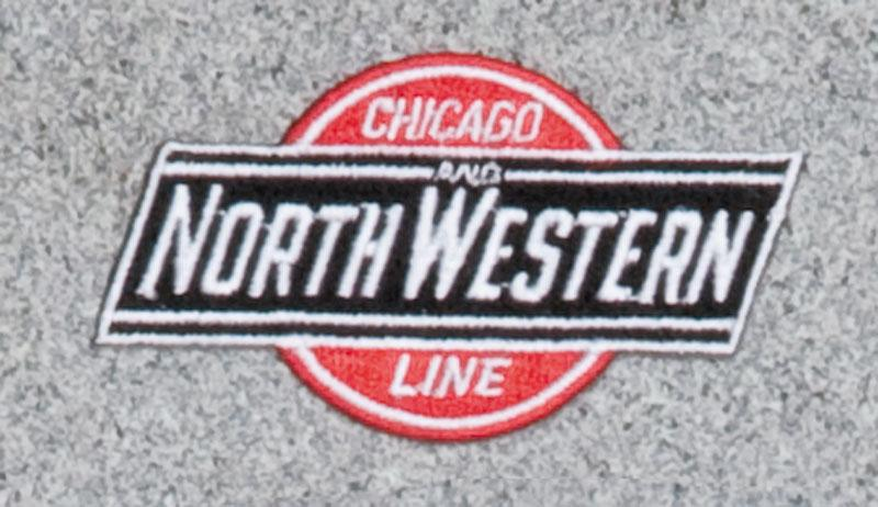 Chicago and North Western Railroad Logo Patch