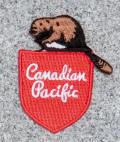 Canadian Pacific Railroad Logo Patch