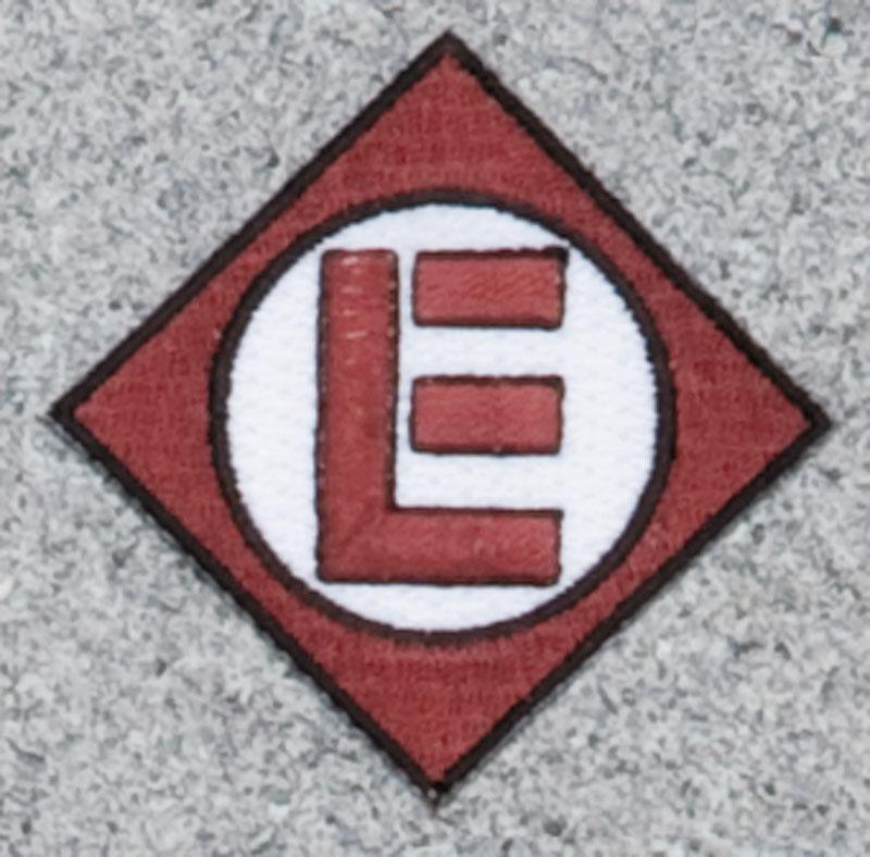 Erie Lackawanna - Brown Railroad Logo Patch